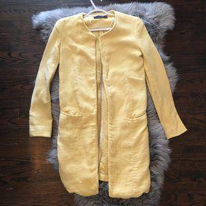 Zara Yellow Spring Jacket